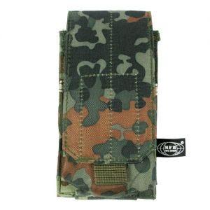 MFH Einzel-Magazintasche für M4/M16 mit MOLLE-Befestigungssystem Flecktarn