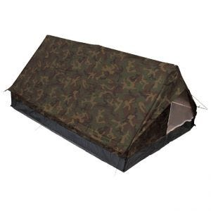 MFH Minipack 2-Personen-Zelt mit Moskitonetz Woodland