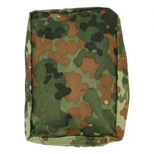 MFH Tasche für Erste-Hilfe-Set mit MOLLE-Befestigungssystem Flecktarn