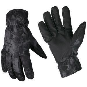 Mil-Tec Softshell-Handschuhe mit Thinsulate Mandra Night