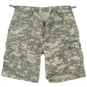 Mil-Tec US Bermuda-Shorts aus Ripstop Prewashed ACU Digital