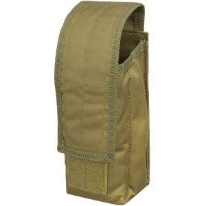 Mil-Tec AK47 Einzel-Magazintasche mit MOLLE-Befestigungssystem Coyote