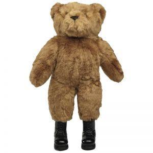 Mil-Tec Großer Teddybär mit Stiefeln