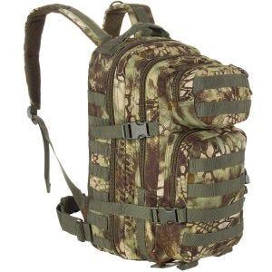 Mil-Tec US Assault Pack Small Einsatzrucksack mit MOLLE-Befestigungssystem Mandra Wood