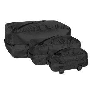 Helikon Pakcell Taschen-Set Ripstop Schwarz