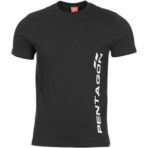 Pentagon Ageron Pentagon Vertical T-Shirt Schwarz