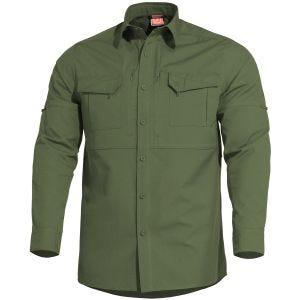 Pentagon Plato Taktisches Hemd Camo Green