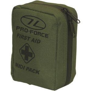 Pro-Force Mittelgroßes Erste-Hilfe-Set Olivgrün