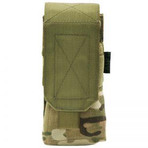 Pro-Force M4/M16 Einzel-Magazintasche mit MOLLE-Befestigungssystem MultiCam