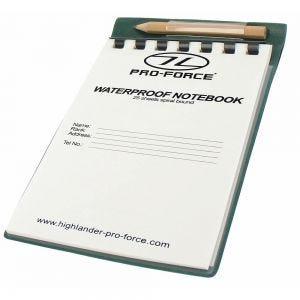 Pro-Force Wasserfester Notizbuch
