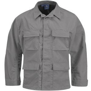 Propper BDU Jacke aus Baumwoll-Polyester-Ripstop Grau