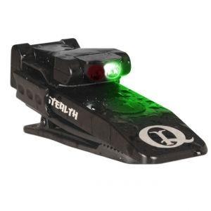 QuigLite Stealth LED-Taschenlampe mit Infrarot & grünem Nachtsichtlicht