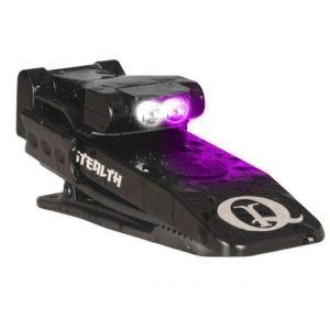 QuiqLite Stealth LED-Taschenlampe UV/Weiß