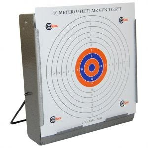SMK Zielscheibenhalter mit Kugelfang 17 x 17 cm