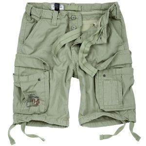 Surplus Airborne Shorts im Vintage-Stil Light Olive