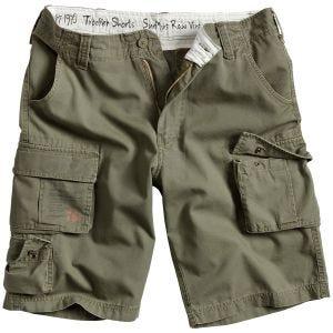 Surplus Trooper Shorts Olivgrün verwaschen
