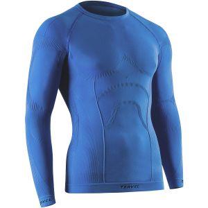 Tervel Comfortline Langärmliges Herren-Unterhemd Blau