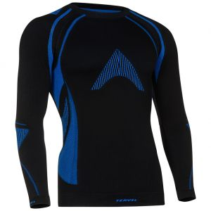 Tervel Optiline MOD-02 Langarm-Shirt Schwarz/Blau