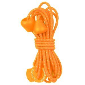 Ultimate Performance Reflektierende elastische Schnürsenkel Orange