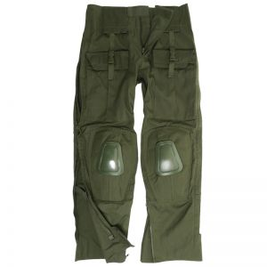 Mil-Tec Warrior Hose mit Knieschutz Oliv