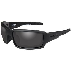 Wiley X WX Titan Brille - Gläser in Smoke Grey / Gestell in Mattschwarz