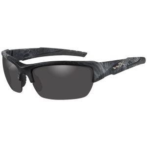 Wiley X WX Valor Polarisierte Brille - Gläser in Smoke Grey / Gestell in Kryptek Typhon