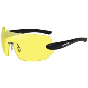 Wiley X WX Detection Brille - Gläser in Gelb + Orange + Lila / Gestell in Mattschwarz