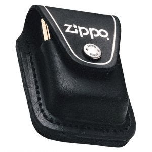 Zippo Feuerzeug-Tasche mit Schlaufe Schwarz
