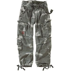 Surplus Airborne Hose im Vintage-Stil Night Camo