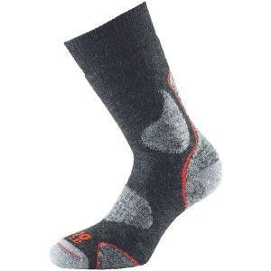 1000 Mile 3 Season Walk Socken Charcoal