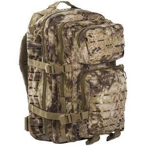 Mil-Tec US Assault Pack Laser Cut Large Einsatzrucksack Mandra Tan