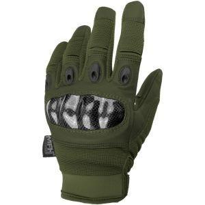 MFH Mission Einsatzhandschuhe OD Green