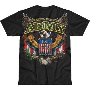 7.62 Design Army Fighting Eagle Battlespace T-Shirt Schwarz