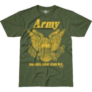 7.62 Design Army Retro Battlespace T-Shirt Military Green