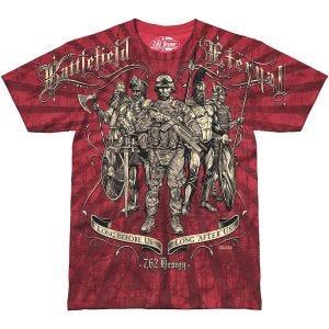 7.62 Design Battlefield Eternal T-Shirt Scarlet