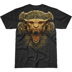 7.62 Design USMC Devil Dog Battlespace T-Shirt Schwarz