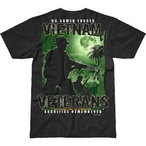 7.62 Design Vietnam Veterans Remembered Battlespace T-Shirt Schwarz