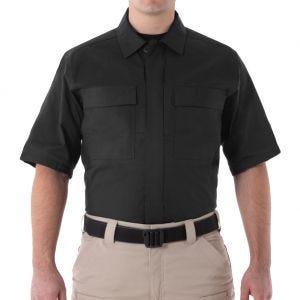 First Tactical Men's V2 Short Sleeve BDU Shirt Black