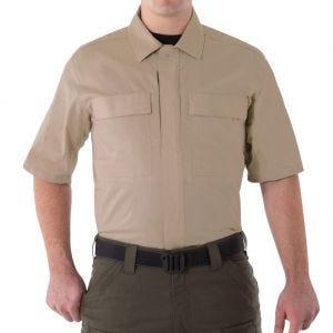 First Tactical Men's V2 Short Sleeve BDU Shirt Khaki