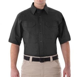 First Tactical Men's V2 Short Sleeve Tactical Shirt Black