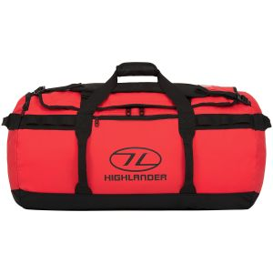 Highlander Storm Kitbag 90L Red