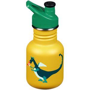 Kid Kanteen Sport 355 ml Trinkflasche mit Sport Cap 3.0 Dragon Snack