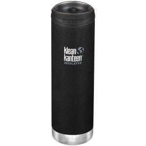Klean Kanteen TKWide Insulated 591ml Trinkflasche mit Café Cap 2.0 Shale Black