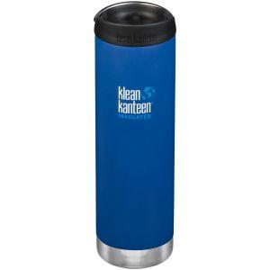 Klean Kanteen TKWide Insulated 591ml Trinkflasche mit Café Cap 2.0 Deep Surf