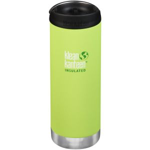 Klean Kanteen TKWide Insulated 473ml Trinkflasche mit Café Cap 2.0 Juicy Pear