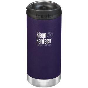 Klean Kanteen TKWide Insulated 355ml Trinkflasche mit Café Cap 2.0 Kalamata