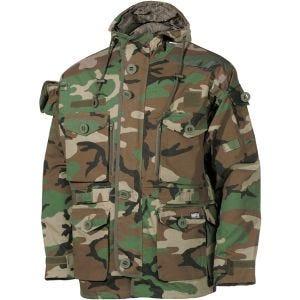 MFH Commando Smock-Jacke Woodland