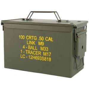Mil-Tec US Ammo Box M2A1 Cal,50 Munitionskiste Oliv