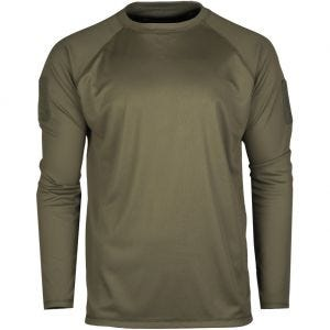 Mil-Tec Tactical Long Sleeve Quick Dry Shirt Olive