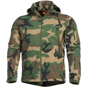 Pentagon Artaxes Softshelljacke Woodland